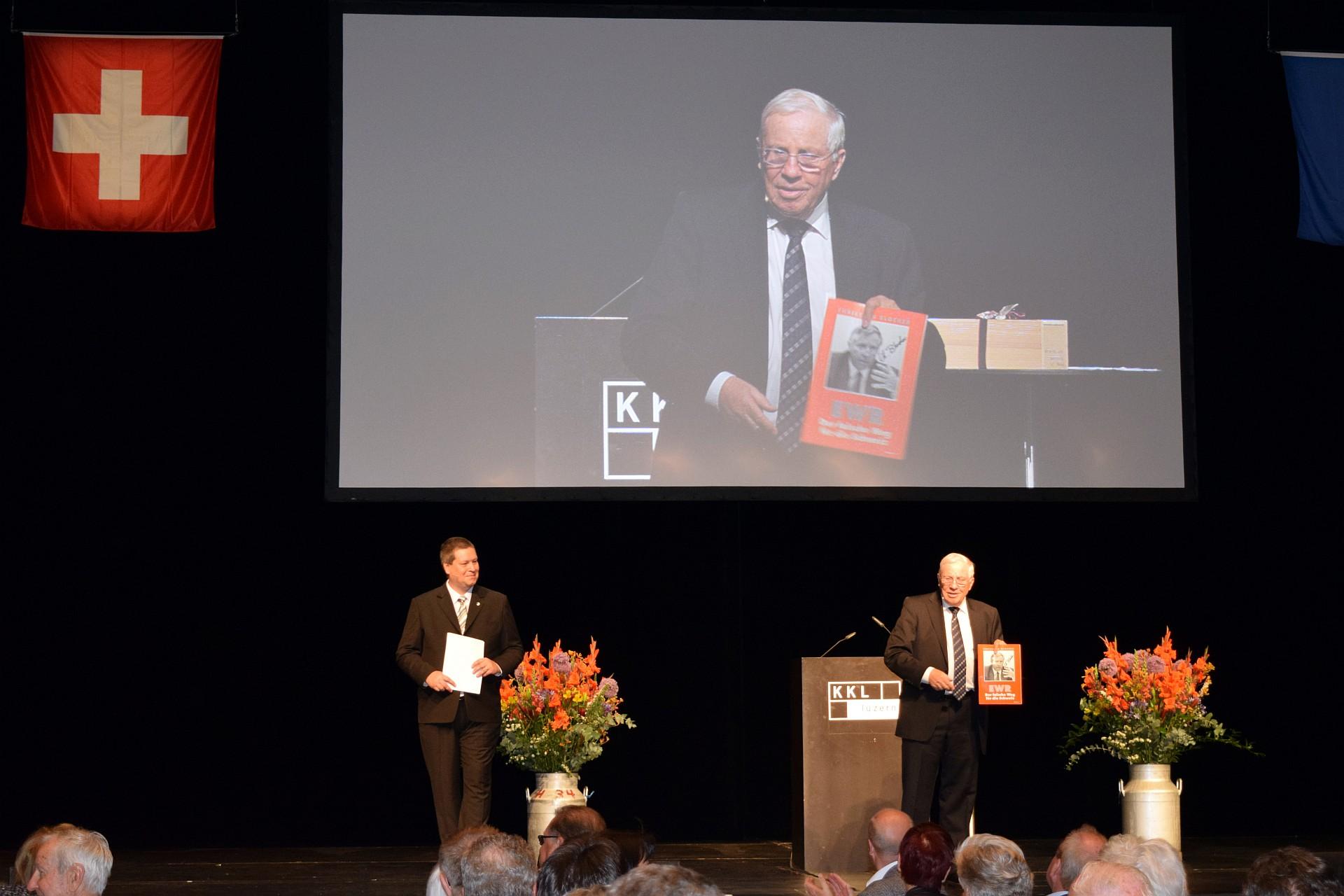 Jubiläumsfeier 25 Jahre SVP Stadt und Kanton Luzern