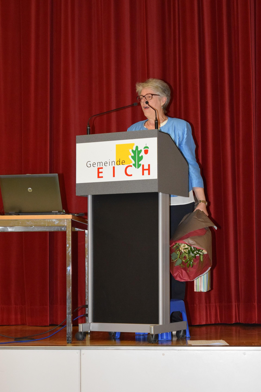 Neue Kantonalpräsidientin Angela Lüthold Sidler