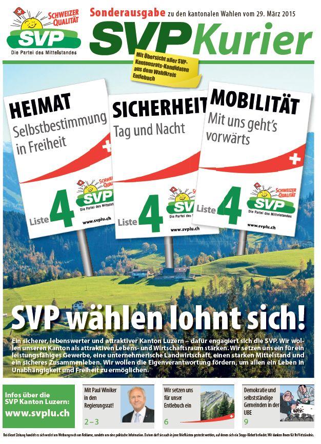 Wahlzeitung Entlebuch