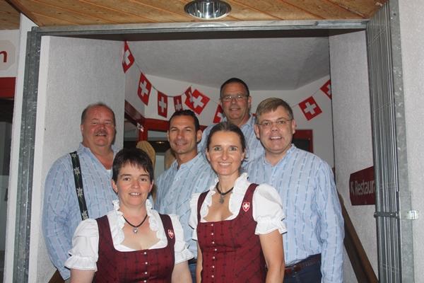 Die National- und Ständeratskandidaten der SVP auf dem Rothorn