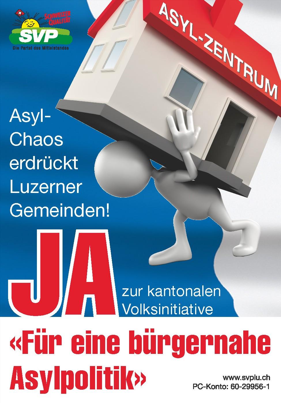 Plakat Asylinitiative