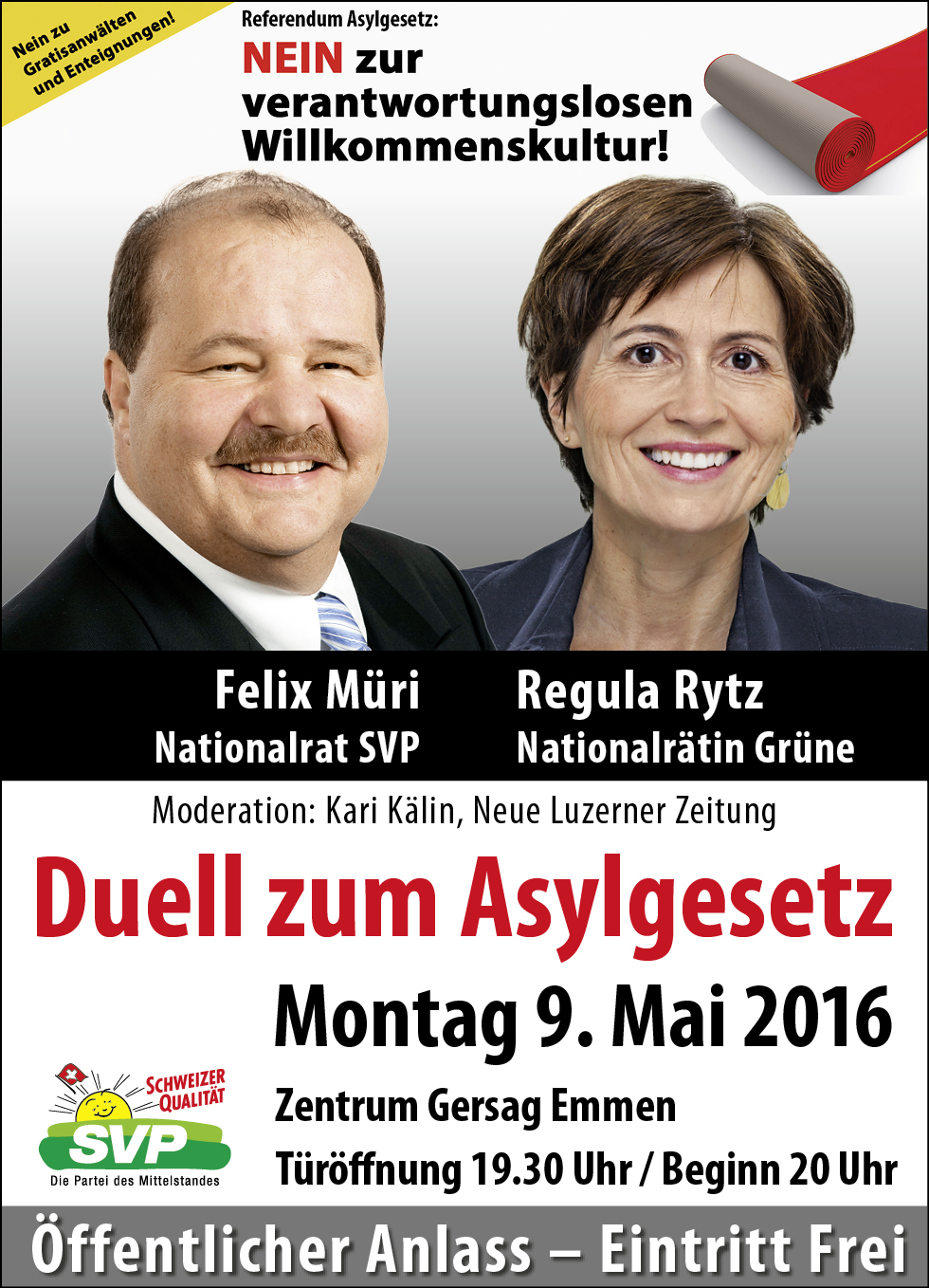 Podiumsdiskussion 2016 05 09