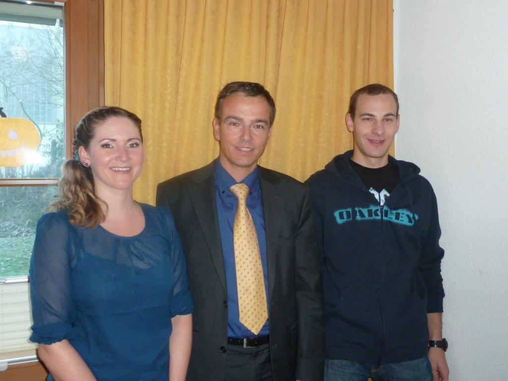 Von links nach rechts: Nadia Studer, Daniel Keller, Nicolas Odermatt